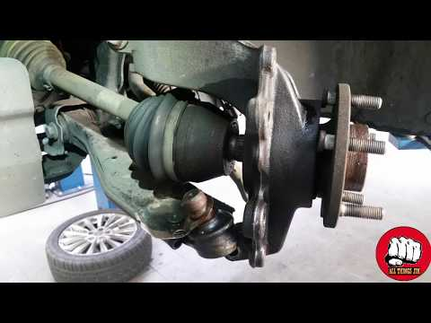 HOW TO REPLACE A FRONT WHEEL BEARING ON A FORD FOCUS 2011- 2017