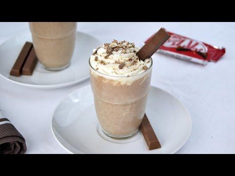 Kit Kat Milkshake - Easy Homemade Kit Kat Milkshake Recipe