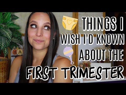 THINGS I WISH I'D KNOWN ABOUT THE FIRST TRIMESTER OF PREGNANCY