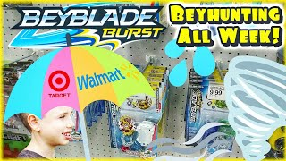 Beyblade Burst Toy Hunting at Target and Walmart for Hasbro