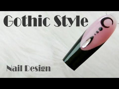 Black Tip Gothic Style Design How to by Goda