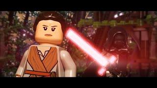 LEGO Star Wars: The Force Awakens Trailer (ENG) secret scene preview By WLA
