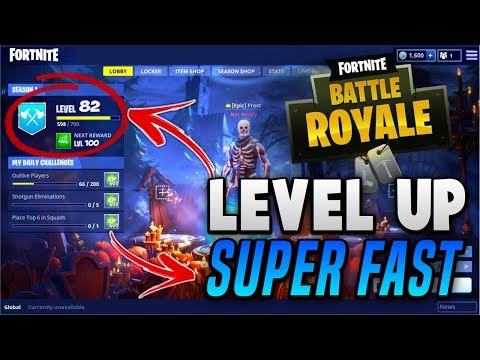 HOW TO LEVEL UP SUPER FAST! | Fortnite Battle Royal