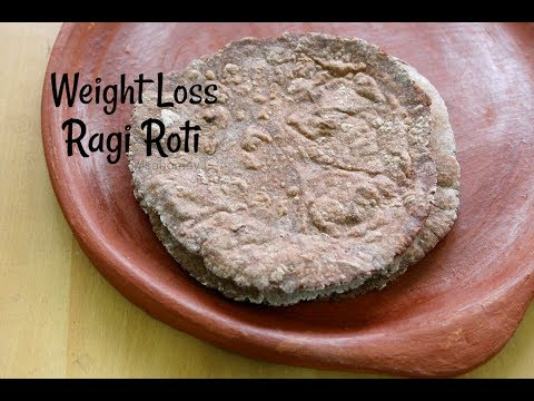 Ragi Roti Recipe For Weight Loss - How To Make Weight Loss Gluten Free Ragi Chapati -Healthy Recipes