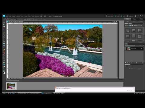 Photoshop Elements:Transparent Logo Overlays