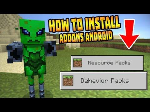 minecraft pocket edition behavior packs download