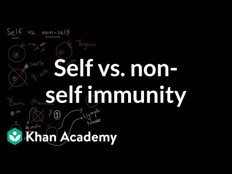 Self vs. non-self immunity | Immune system physiology | NCLEX-RN | Khan Academy
