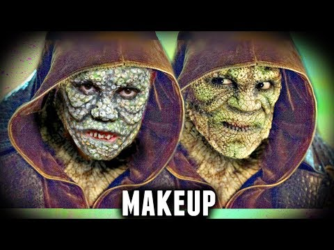 KILLER CROC EPIC MAKEUP TUTORIAL (Suicide Squad Halloween Costume Idea 2017)