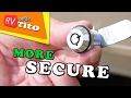 How To Replace RV Storage Locks - No More CH751 Keys