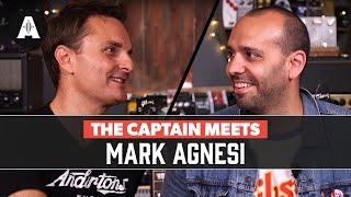 The Captain Meets Mark Agnesi of Gibson Guitars