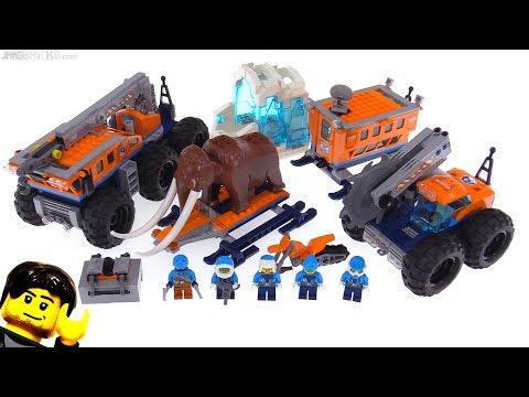 LEGO City Arctic Mobile Exploration Base review! 60195