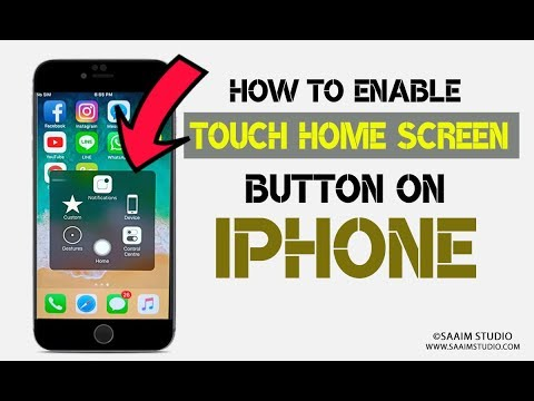 How To Enable Touch Screen Home Button on iPhone  iPod Assistive Touch