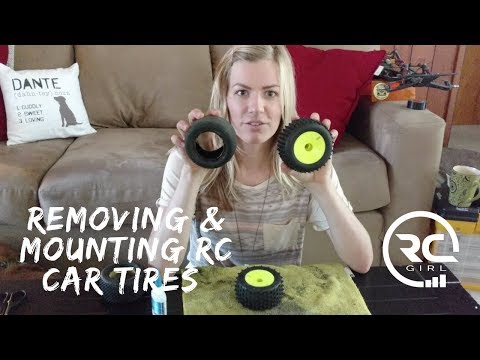 HOW TO REMOVE RC TIRES |  Using the bake method