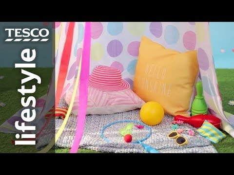 How to build a children's garden den the easy way | Tesco
