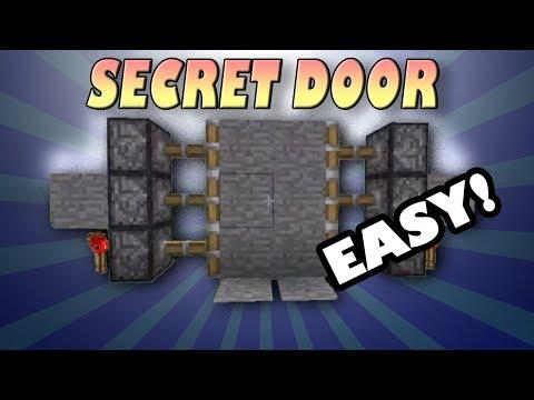 How to Make Secret Door In minecraft - NO MOD NEEDED 1.5.2
