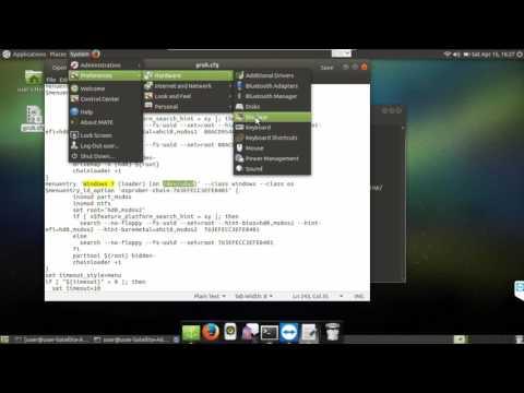 How to remove grub entries Ubuntu Linux
