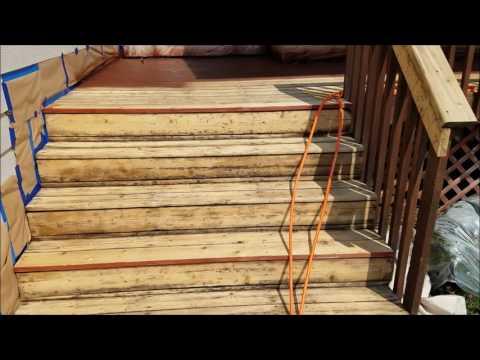 HVLP Sprayer Setup for Deck Stain