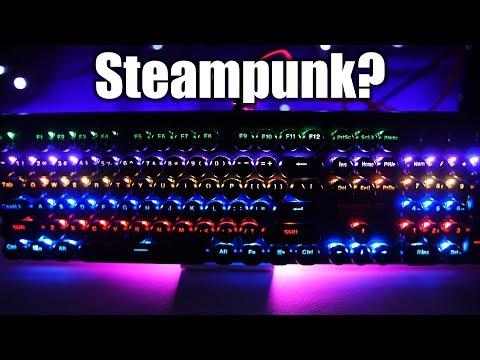 1stPlayer Steampunk Lite MK5 RGB Mechanical Keyboard Review!