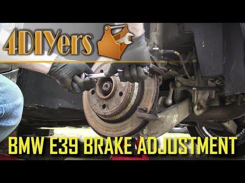 DIY: BMW E39 Parking Brake Adjustment