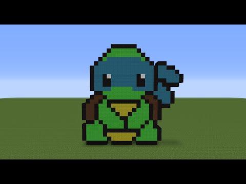 Minecraft Tutorial Ep.1: How To Make Teenage Mutant Ninga Turtle's