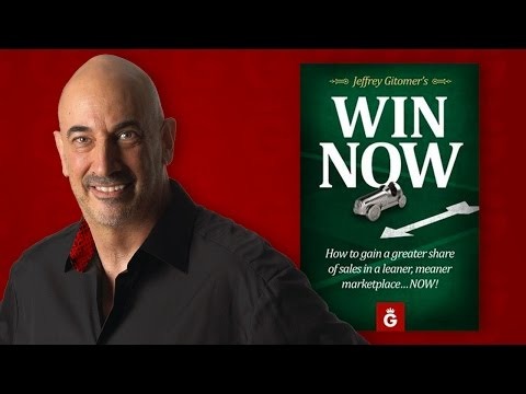 Win Now | A New Book from Jeffrey Gitomer - Available Only on Kindle