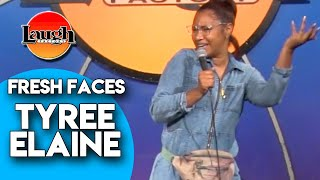 Tyree Elaine | Ex's Phone | Laugh Factory Stand Up Comedy