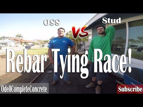 Rebar Tying Race