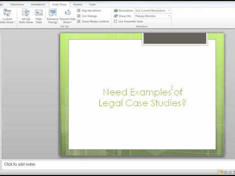 Legal Case Study - HCS 478