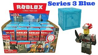 Roblox Blind Boxes Series 3 Blue Ice Codes Full Case Unboxing