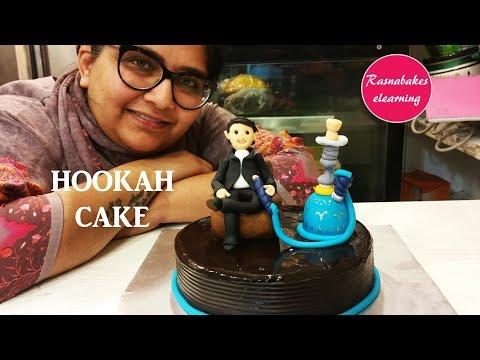 Hookah Bar : Cake Decorating Tutorial