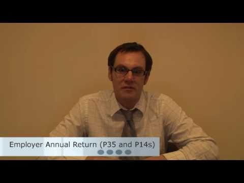 Employer Annual Return - Forms P35 & P14 - PAYE 3 of 5