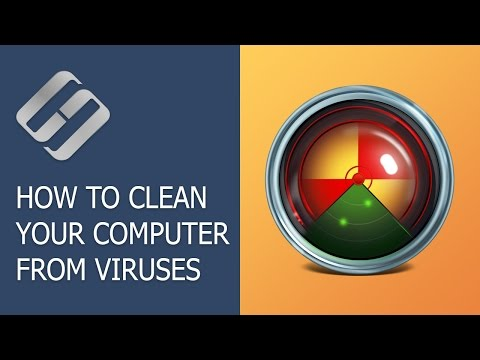 How to Clean Your Computer or Laptop with Windows 10, 8 or 7 From Viruses for Free 🔥🕷️💻