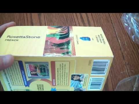 Warning: Watch opening of fake Rosetta Stone. Do not buy