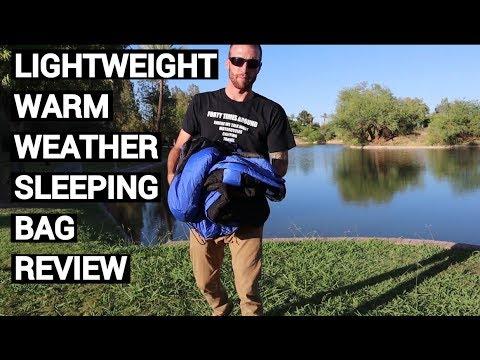 Best Warm Weather Sleeping Bag For Motorcycle Camping Travelpak Snugpak 2 Review