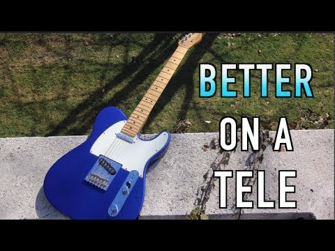Riffs That Should Have Been Played On A Tele!