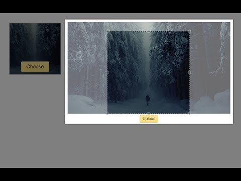Image Preview + Crop Upload with jQuery and PHP