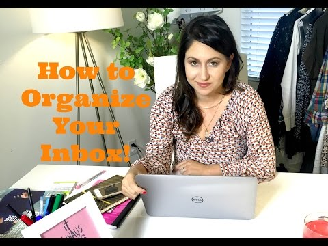 How to Organize Your Inbox! | The Intern Queen