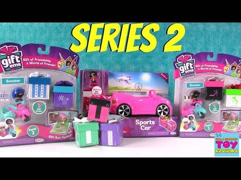 Gift Ems Series 2 Scooter Sports Car Playset 1 Blind Box Opening | PSToyReviews