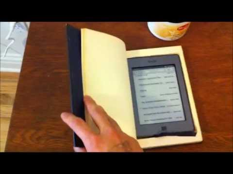 Ironic Homemade Kindle Touch Cover / Case
