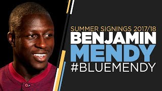 BENJAMIN MENDY SIGNS FOR MAN CITY! | First Interview | #BlueMendy
