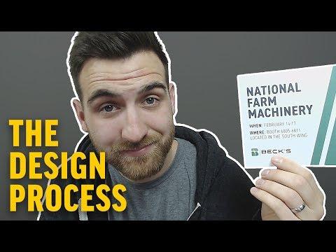 Designing a Flat Social Media Post in Illustrator | Graphic Design Process