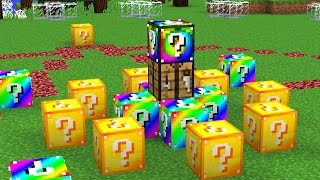 YOUTUBER MINECRAFT LUCKY BLOCK HUNGER GAMES