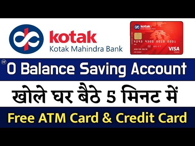 Download Kotak Mahindra Bank Zero Balance Account opening online   Kotak 811 Account Hindi MP3 Gratis