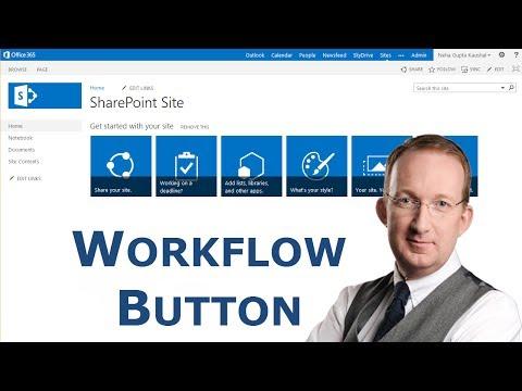 SharePoint Workflow Button