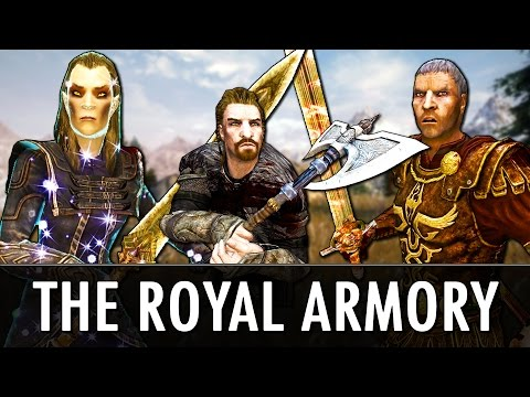 Skyrim Mod: The Royal Armory - Immersive Named Weapons