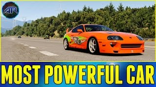 Forza Horizon 2 : MOST POWERFUL CAR EVER!!! (Fast And Furious)