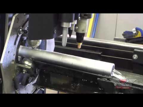 Bend-Tech Dragon - Plasma Cutting Aluminum Tube/Pipe