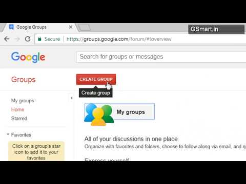 How to Create a Gmail Group Email Account