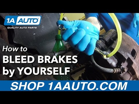 How to Bleed your Brakes by Yourself