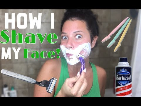 HOW I SHAVE MY FACE!
